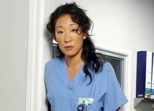 Sandra Oh alias Cristina Yang