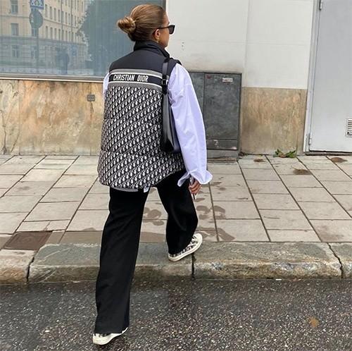 Doudoune sans manches de Dior