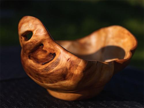 Un cadeau en bois