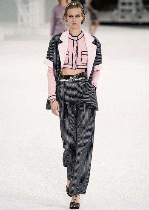Pantalon souple - Défilé Chanel