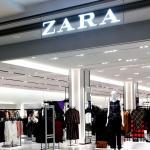Zara : jupe à franges strassées