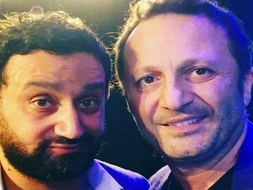 Arthur et Cyril Hanouna