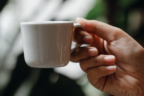 Infusion de café vert