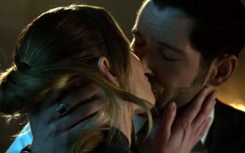 Lucifer est heureux avec Chloe