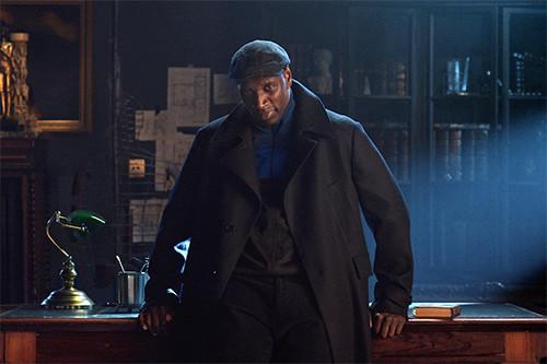 Omar Sy dans la série Lupin