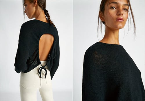 Pull dos nu lien de chez Pull and Bear