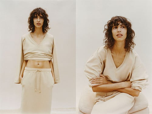 Jupe Pantone de Zara
