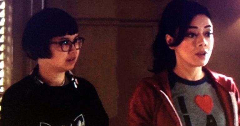 Azrael et Ella dans Lucifer saison 5