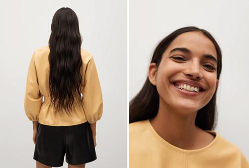 La blouse Mango
