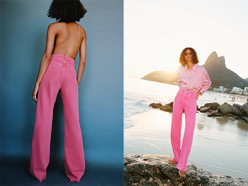 Jeans tendance de Zara