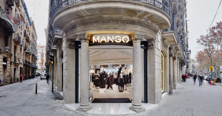 Mango - Blouse simili cuir
