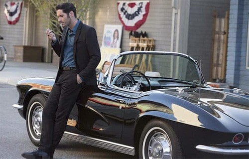La voiture de Lucifer Morningstar