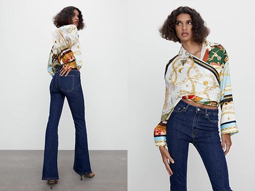 Une silhouette parfaite avec ce jean de chez Zara