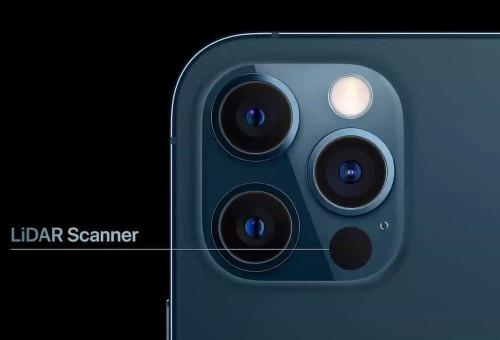 Le LiDAR arrive sur tous les modèles d'iPhone 13