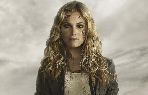 Clarke dans The 100