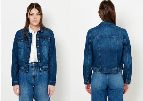 Veste en jean coton bio et waterless