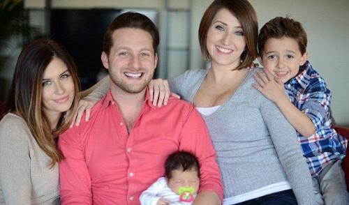 Adam, Jane et Brooke vivent sous le même toit