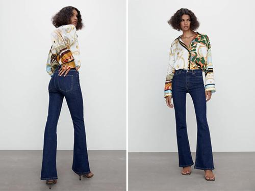 Le modèle ZW The Skinny Flare de chez Zara