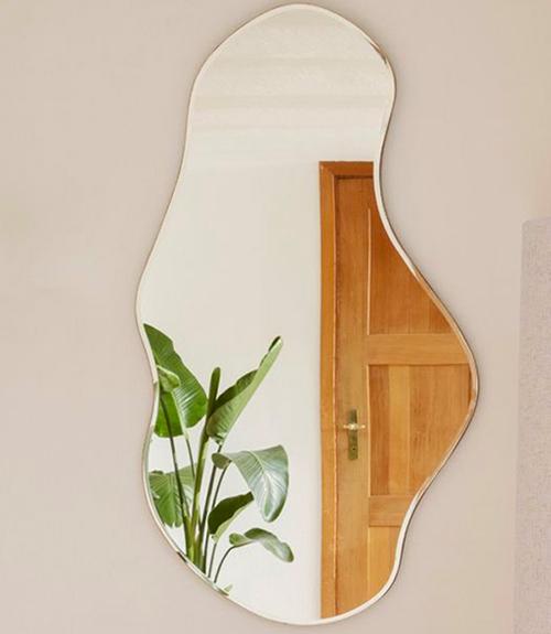 Miroir irrégulier sans cadre