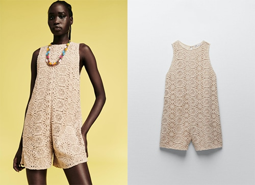 Zara combinaison ultra tendance