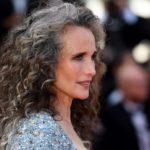 tendance coiffure 50 ans : Les secrets de coiffure de'Andie MacDowell