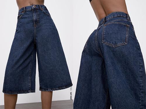 Le bermuda en jean de Zara